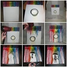 home design melted crayon art ideas pinterest window treatments
