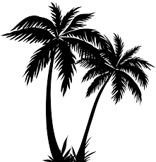 palm trees silhouette png clip image silhouette cameo tips