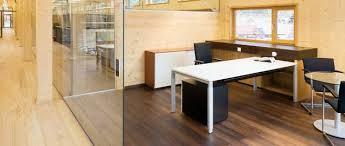 bureau d architecture agencement cloisons amovibles de bureau moderne en île de