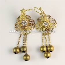 gold earrings design with weight light weight gold earring wholesale earring suppliers alibaba