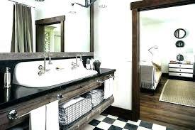 Reclaimed Wood Bathroom Mirror Distressed Bathroom Mirror Akapello