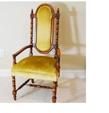 Upholstered Armchair by Vintage Statesville Chair Co Upholstered Armchair Ebth