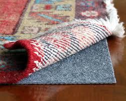 rugpadusa rug pro ultra low profile felt and rubber rug pad
