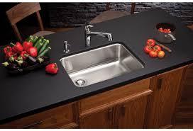 elkay kitchen sinks undermount faucet com eluh2317 in stainless steel center drain by elkay