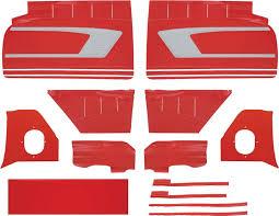 El Camino Interior Parts 1959 Chevrolet Impala Parts Interior Soft Goods Door Panels