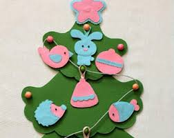 felt ornaments felt ornaments tree