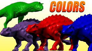 colorful colors learn colors with dinosaurs teach colors preschool colorful