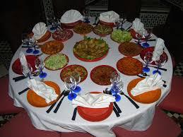 salle a manger marocaine au20jasmins