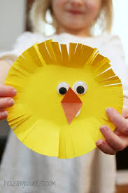 Chicks For Easter Decorations by Cotton Ball Handprint Craft For Kids Easter Cotton And Craft