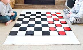 Diy Chess Set by Diy Checkers Set For Kids Project Nursery