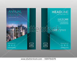 financial report cover page financial magazine layout template download free vector art
