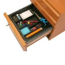 Hanging Desk Drawer Organizer Officemate Oic Recycled Expandable Drawer Tray 10 3 8 16 Inches