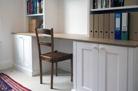 white fitted furniture