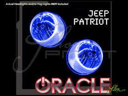 patriot jeep blue 07 16 jeep patriot led dual color halo rings headlights bulbs