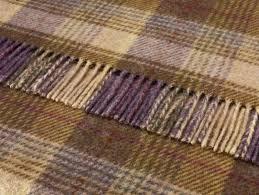 Throws For Sofa by Shetland Quality Pure Wool Huntingtower Grape Throw 140x185cms