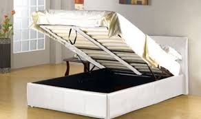small double bed ottoman storage modern furnitures