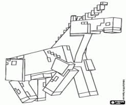 minecraft coloring pages unicorn the unicorn of minecraft coloring page printable game