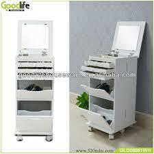 wooden movable makeup cabinet beauty salon equipment view beauty