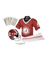 Football Halloween Costumes Boys Alabama Crimson Tide Child Uniform
