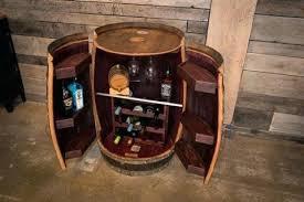 crate and barrel bar cabinet wine barrel cabinet recycled wine barrel cabinet half wine barrel