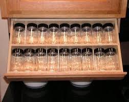 under cabinet spice rack under cabinet drawer silverware storage flatware organizer