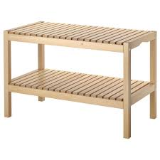 bathroom wood shower bench ikea bekvam step ladder bathroom