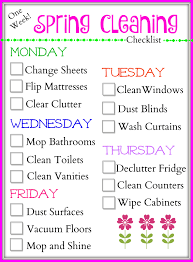 springcleaning tips for cleaning quickly u0026 a spring cleaning checklist the