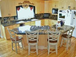kitchen amazing kitchen island with seating granite table and