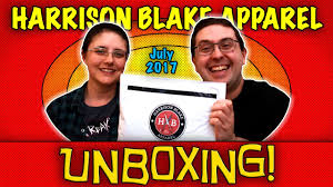 Monthly Clothing Subscription Boxes Unboxing Harrison Blake Apparel July 2017 Monthly Club Men U0027s