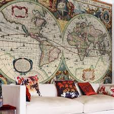 World Map Wallpaper by Vintage Hondius World Map Wallpaper By Love Maps On