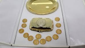 arras de oro arras boda lamina de oro 14k virge de guadalupe 1 990 00 en