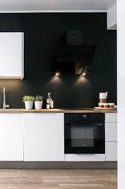 cuisine blanche et noir cuisine blanche et noir peinture satin