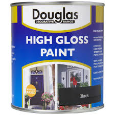 dulux high gloss black paint 2 5 litre gloss topline ie