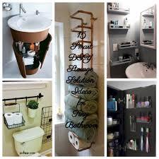 bathroom storage ideas diy bathroom storage small bathroom ideas 20 of the best diy shower