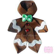 gingerbread ribbon would be adorable on a kid u0027s shirt or hair