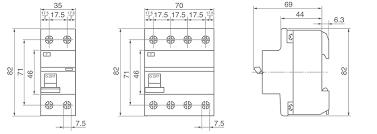 ic65 a9 type residual current circuit breaker rccb vigi
