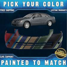 nissan altima 2005 front bumper new painted to match front bumper cover for 2005 2006 nissan