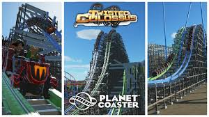 Six Flags Guide Planet Coaster Twisted Colossus Six Flags Magic Mountain