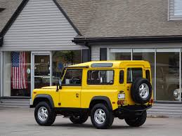 land rover defender convertible for sale 1995 land rover defender 90 station wagon copley motorcars