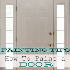 home interior door how to paint an interior door home decorating painting advice