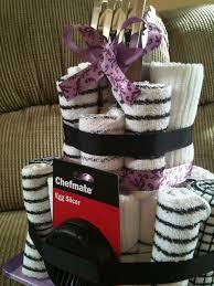 towel cakes kitchen towel cake bridal shower gift