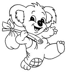 koala bear printable coloring pages photo 65962 koala coloring