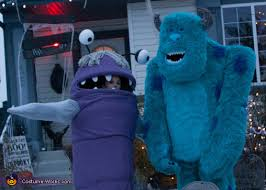 sully costume monsters inc sulley and boo costumes