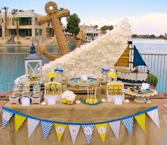 Nautical Baby Shower Centerpieces by Nautical Baby Shower Theme Baby Showers Pinterest Boys