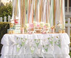 Pink And Gold Dessert Table by Magical Neverland Birthday Party Peter Pan Hostess With The
