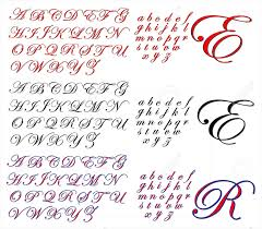 abc alphabet lettering design edwardian combo royalty free