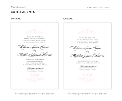 how to word your wedding invitations u2013 project pretty