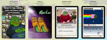 Meme Trading Cards - rare pepe wallet trading cards rare pepe know your meme