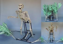 Animated Halloween Props For Sale by Bushwacker Animated Halloween Prop Animated Skeleton Haunted