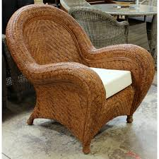 Patio Furniture Pottery Barn by Pottery Barn Wicker Club Chair Upscale Consignment